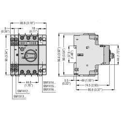 Interruttore salvamotore type E 17-23A Lovato
