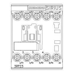 Contattore quadripolare 24V 5,5KW Siemens