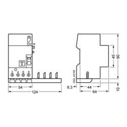 Differenziale puro 0,30A 4MOD. 63A G744N/63A Siemens