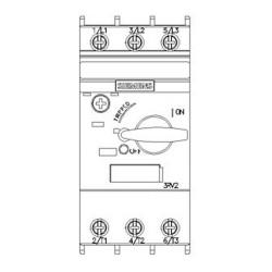 Interruttore automatico a rotazione 7,0-10,0 Siemens