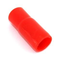 Cappuccio terminale PVC nero/ rosso 16MMQ. PE