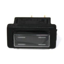 Interruttore 036 nero 10A con cappuccio basculante