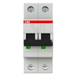 Interruttore magnetotermico 2P 2MOD. 6A curva b Abb