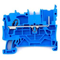 Morsetto passante blu 1 pin 2,5mmq. Wago