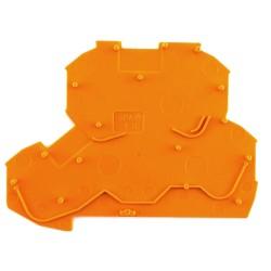 Piastra termica per distribut. arancione 1,5/2,5mmq. Wago