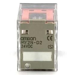 Relè con diodo 24 VCC 2 vie...