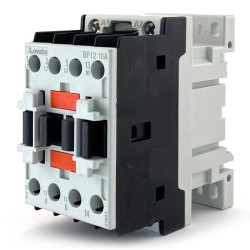 Contattore tripolare di potenza 12a 3P+no AC3 24vca Lovato