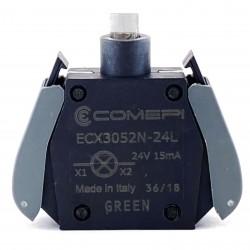 Lampada led verde 24VDC Per...