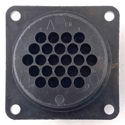 Connettore 24 poli per contatti maschi da pannello CPC1 Te connectivity
