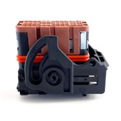 Kit connettore PF 48+8VIE nero con leva Molex