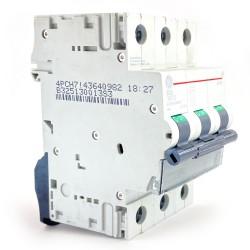 Interruttore magnetotermico 3P 3 moduli 32A  curva B Ge power