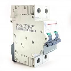 Interruttore magnetotermico 2P 2 moduli 16A  curva B Ge power