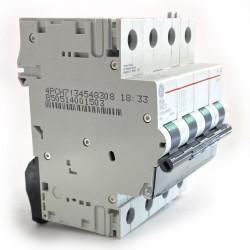 Interruttore magnetotermico 4P 4 moduli