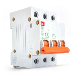 Interruttore magnetotermico 3P 3 moduli curva C 16A Ls electric