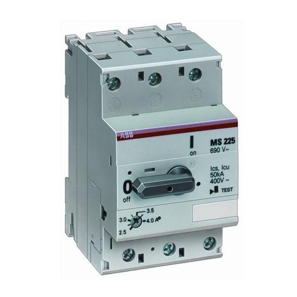 Interruttore salvamotore MS225 4A (EP