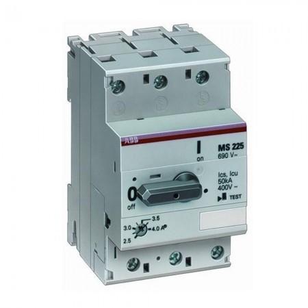 Interruttore salvamotore MS225 4A (EP 687 6) Abb