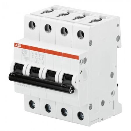 Interruttore magnetotermico S 204 C25 4P 25A 6KA (S529235) Abb