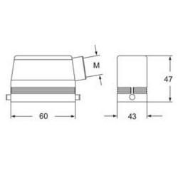 Custodia mobile con piolini Ilme Rho 06 L25