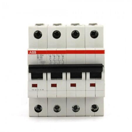 Interruttore magnetotermico 4P 4MOD.16A (EXS623469) Abb